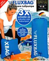 Fluxbag Luftpumpe Luftmatratze Pumpe Strandpumpe Luftbett Reisepumpe Reisekissen