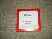 BILLY IDOL - IDOLIZE YOURSELF - 2 TRACK DJ GREEK PROMO ADVANCE EPK DVD  UNIQUE