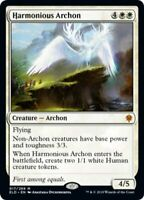 MTG Harmonious Archon FOIL Throne of Eldraine MYTHIC RARE NM/M