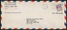 Mayfairstamps US 1952 SS Santa Isabel Balboa Cover wwp18259