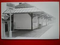 PHOTO  LANARK RAILWAY STATION NORTH SIDE 30/6/87