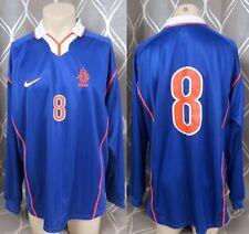 Player issue Netherlands Holland 1998-00 L/S away shirt #8 (Bergkamp) XL