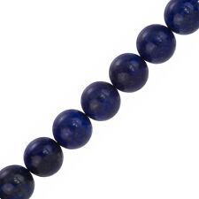 "Naturel bleu lapis lazuli 14mm perles rondes 7.5"" strand (F33/3)"
