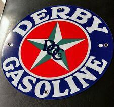 Derby Gas Oil gasoline sign