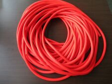 "SURGICAL RUBBER LATEX TUBING FLO RED FISHING RIG 1/4"" ID X 1/16"" WALL SOFT TUBE"
