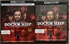 DOCTOR SLEEP 4K ULTRA HD BLU RAY 2 DISC SET + SLIPCOVER SLEEVE FREE WORLD SHIPIN