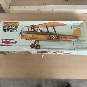Matchbox 1/32 Tiger Moth DH-82A/C Vintage Model Aircraft