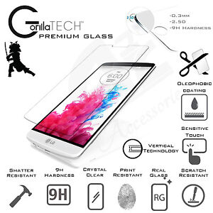 For LG Leon Screen Protector Tempered Glass Shield Genuine Gorilla Tech For LG