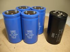 Pioneer SX-1050 SX-5850 SX-1250 SX-5950 22000uf 100V main filter capacitors NEW