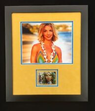 Britney Spears Signed Framed Trading Card & Photo Autographed Signature JSA COA