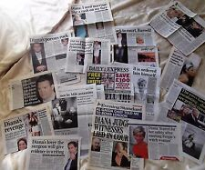 Princess Diana Inquest articles I need marrage like a bad rash from England Rare