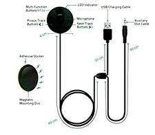 Besign BK01 4.1 Bluetooth Car Wireless Music Streaming Kit Hands-Free Calling