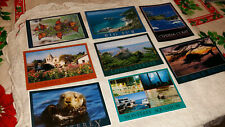 Lot of 8 Vintage 1980's Postcards From the Monterey Peninsula California Grp16 R