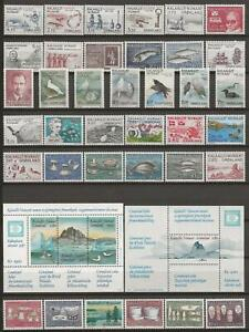 Greenland - Nice Lot - Mint Never Hinged