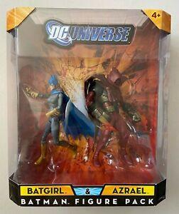 DC Universe Classics TRU Exclusive Batgirl & Azrael Figure 2 Pack DCU Multiverse