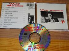 WOLF MAAHN - IRGENDWO IN DEUTSCHLAND (SWINDON-CD, FIST PRESS) / UK ALBUM-CD 1984