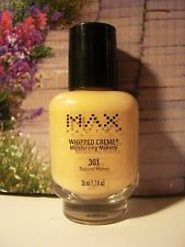Max Factor Whipped Creme Moisturizing Makeup Foundation NATURAL HONEY Code 301