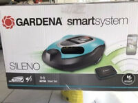 Gardena Smart Sileno Mähroboter Version 2017 1000qm 19060-60 Smart Gateway