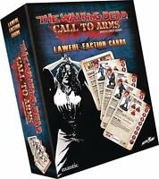 The Walking Dead: Call to Arms Lawful Factions Character Cards - Mantic Games