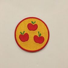 My Little Pony Apple Jack Cutie Mark Embroidered Iron On Patch New