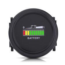 12V/24V/36V/48V/72V LED Digital Battery Indicator Meter Gauge For Golf Cart Car