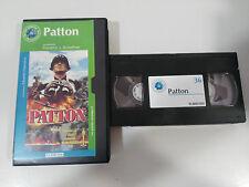 PATTON VHS TAPE CINTA COLECCIONISTA FRANKLIN J SCHAFFNER GEORGE C SCOTT