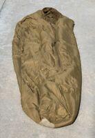 "USMC 3 Season Sleeping Bag Coyote Tan Size Regular Up to 5' 11"" Tall"
