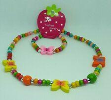 Children Jewellery set Butterfly Necklace & Bracelet