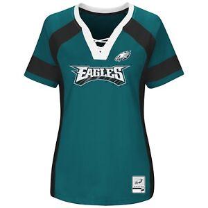 NFL Philadelphia Eagles Majestic 2017 Draft Me Fashion Top - Women's T-Shirt