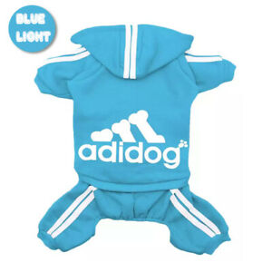 ADIDOG Pet Clothes for Dog Cat Puppy Hoodies Coat Winter Sweatshirt Jacket