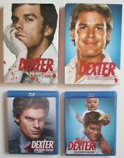 Dexter Seasons 1-4 Mixed DVD and Blu-ray Showtime