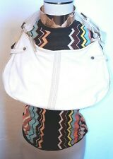 Missoni White Leather Bag w/ Missoni  for target top Included