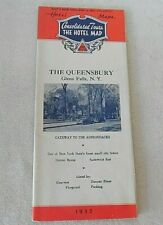 1955 NEW ENGLAND & MID-ATLANTIC CONSOLIDATED TOURS THE HOTEL MAPS