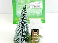 Tannenmotiv m.Hochsitz+Tannen m Schnee Modell Landschaftsbau Jordan 21  45156