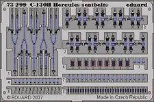 Eduard 1/72 C-130H Hercules seatbelts for Italeri # 73299