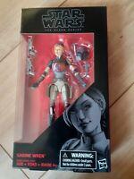Star wars Mandolorian Sabine Wren Black series 6 Inch Figure