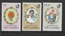 1981 Set 3  1981 Royal Wedding - Prince Charles and Diane Spencer Complete MUH