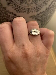 Tiffany & Co Oval Signet Ring / Retired Style