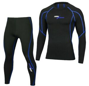 Mens Compression Armour Base layer Top Skin Fit Shirt Pants Tights Fitness Suit