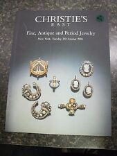 A922 OLD PAWN Christie's East - FINE, ANTIQUE AND PERIOD Jewelry OCT 20,1998