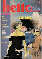 hebdomadaire Hello  bédé (tintin) n°40 1er octobre 1991 couverture Gin Row