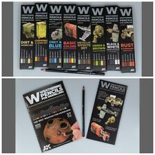AK Interactive Weathering Pencils Sets choose any from full range scroll down