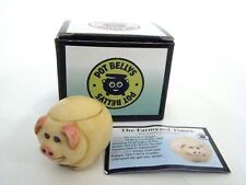 Harmony Kingdom Pot Bellys Biggie the Farmyard Times pig - Item Pbfpi New
