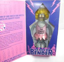 FUTURAMA Robot Action Toy GENDER BENDER Wind-up Aufziehspielzeug Blech ROCKET L