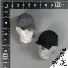 A340 1:6 Scale ace Military action figure parts -Baseball cap set black & Grey