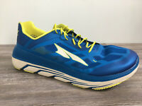 New Altra AFM 1838F-4 Duo Running Shoes Size 15 Blue/Yellow Needs Insoles.