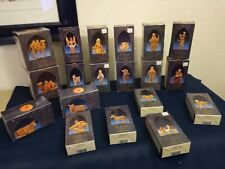 Fontanini Depose Italy Nativity Lot of 19 Figures in Boxes  with stories 5""