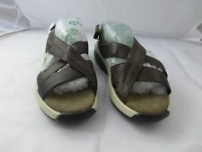 MBT sandals, Brown leather, Size 9