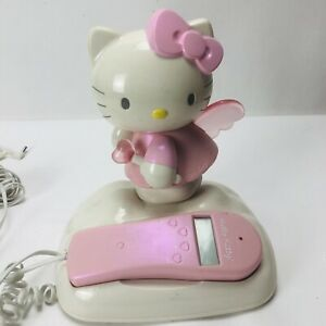 Hello Kitty Phone Home Corded Telephone Pink Sanrio All Cables Included