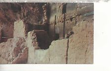 Close Up of Indian Cliff Dwelling Tonto National Monument   Chrome Postcard 217